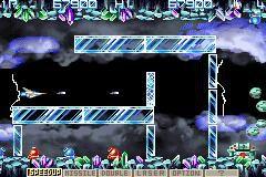 Gradius Advance screenshot