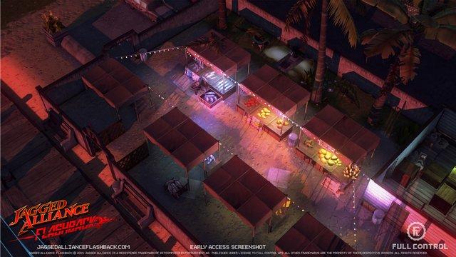 Jagged Alliance Flashback screenshot