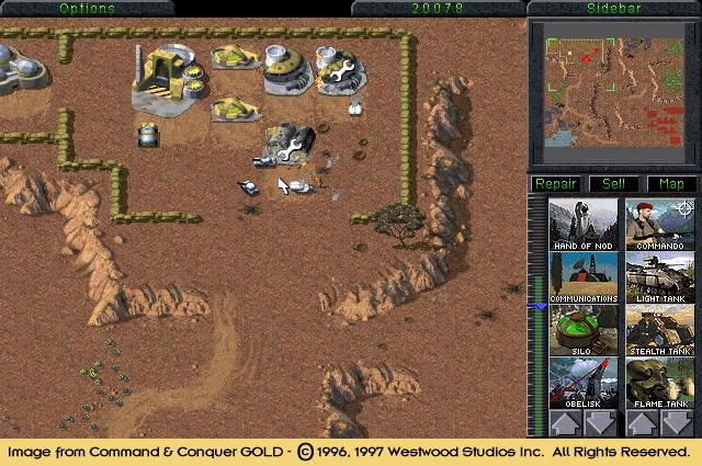Command & Conquer Gold screenshot