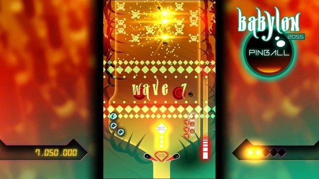 Babylon 2055 Pinball screenshot