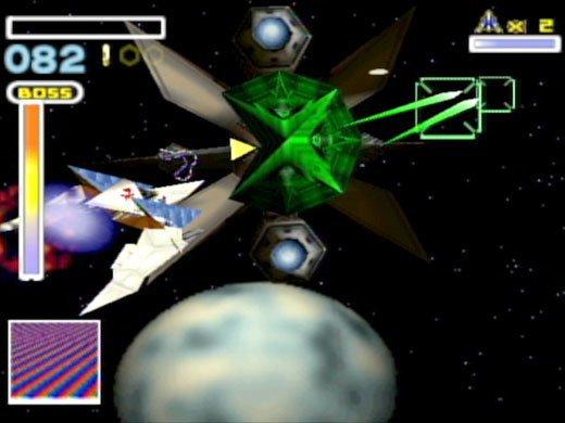 Star Fox 64 (1997) screenshot