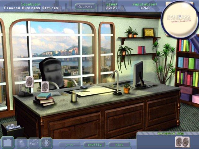 Mahjongg Investigations: Under Suspicion screenshot