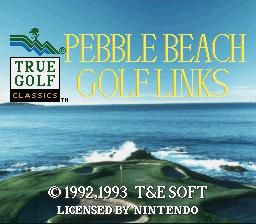 True Golf Classics: Pebble Beach Golf Links screenshot