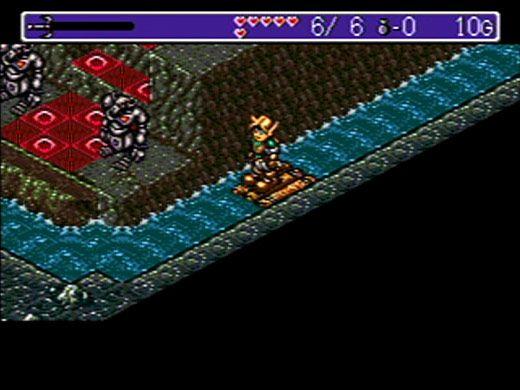 Landstalker: The Treasures of King Nole screenshot