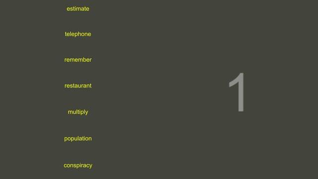 Word Typing Game screenshot