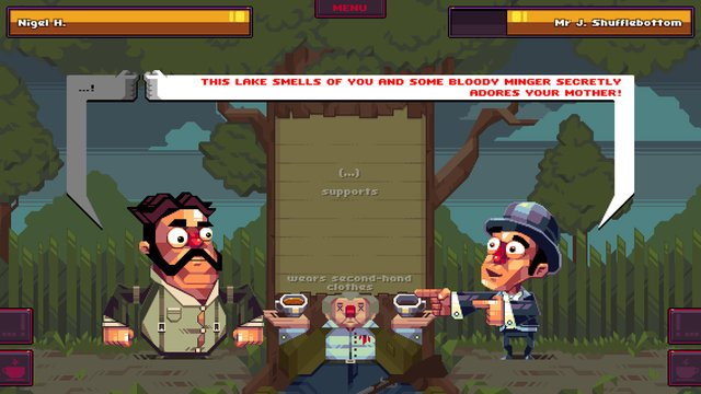 Oh...Sir!! The Insult Simulator screenshot