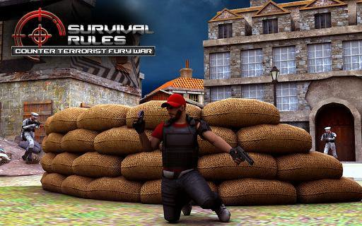 Survival Rules Counter Terrorist Fury War screenshot