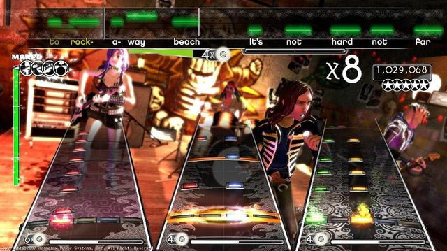Rock Band screenshot