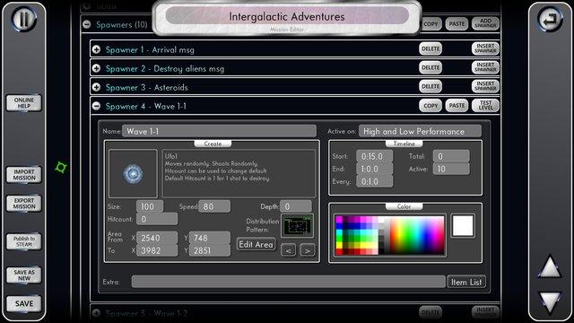 Space Ranger ASK screenshot