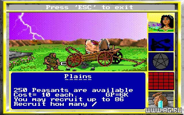 King's Bounty screenshot