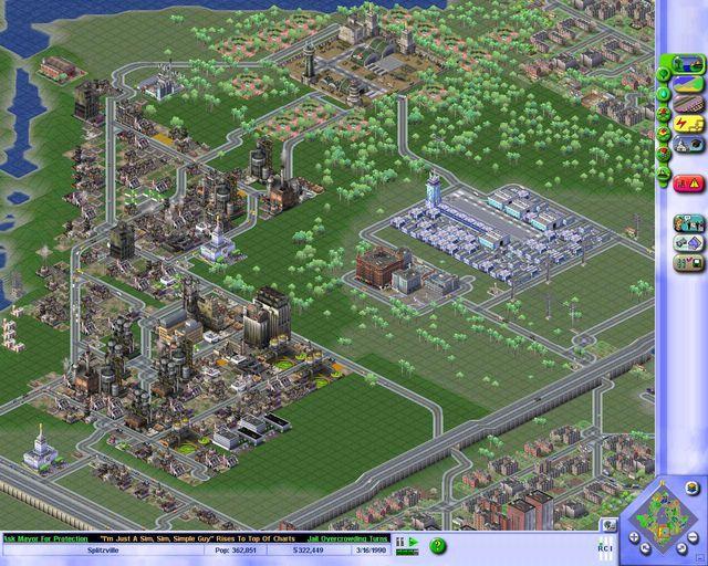 SimCity 3000 Unlimited screenshot