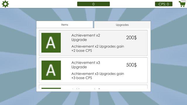 Achievement Clicker 2018 screenshot