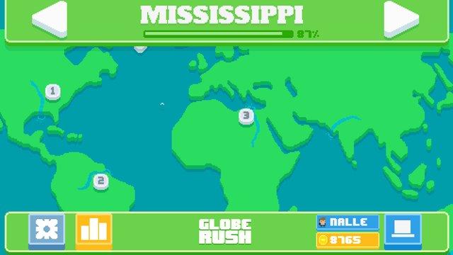 Globe Rush screenshot