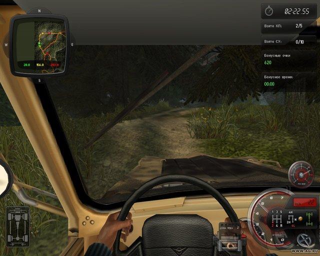 Полный привод 2: УАЗ 4x4 screenshot
