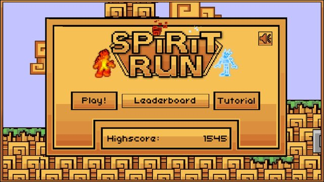 Spirit Run - Fire vs. Ice screenshot