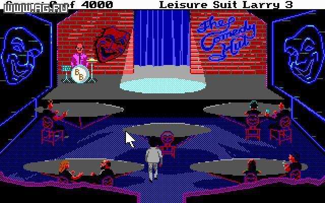 Leisure Suit Larry 3 - Passionate Patti in Pursuit of the Pulsating Pectorals screenshot