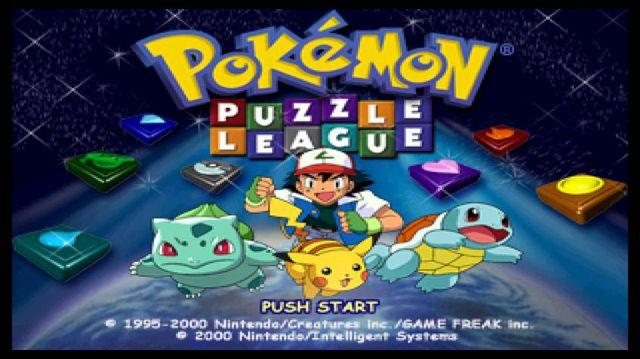 Pokémon Puzzle League (2000) screenshot