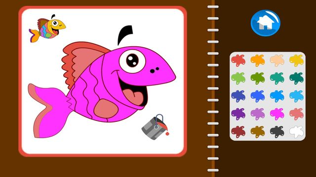 My Coloring Book: Animals screenshot