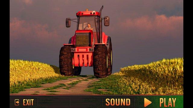 Tractor Cargo Driving Simulator screenshot
