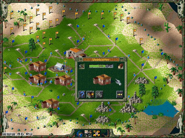 The Settlers 2 Gold Edition screenshot