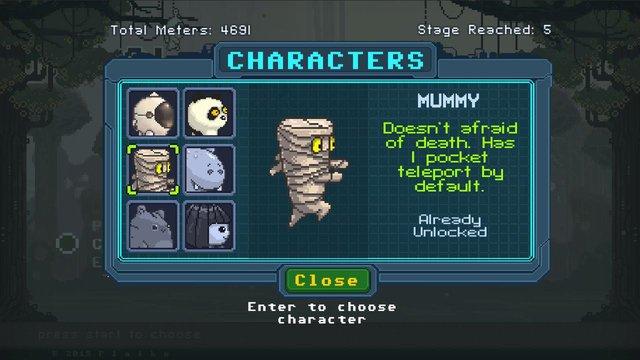 Clumsy Runners Demo screenshot