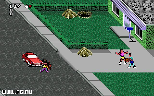 Paperboy 2 screenshot