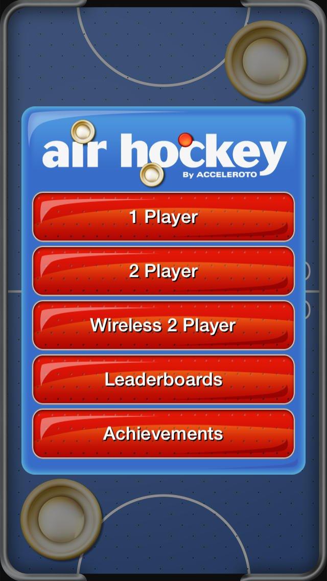 Air Hockey screenshot
