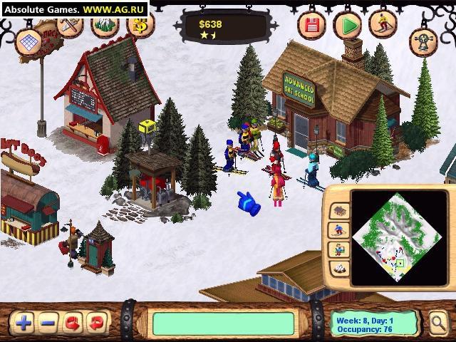 Ski Resort Tycoon 2 screenshot
