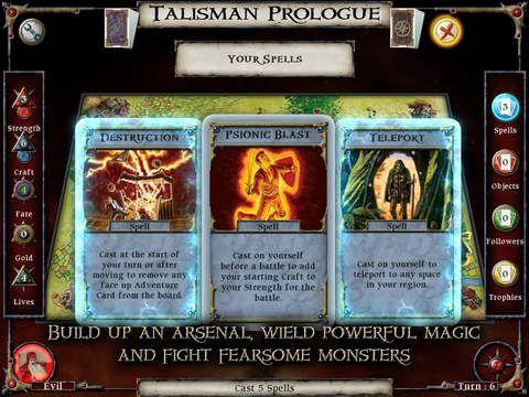 Talisman: Prologue screenshot