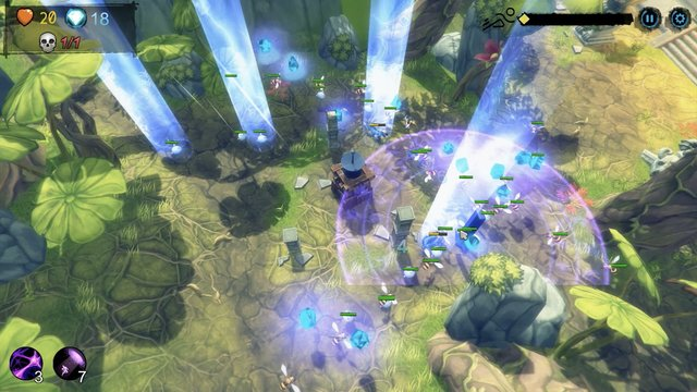 Yet another tower defence screenshot
