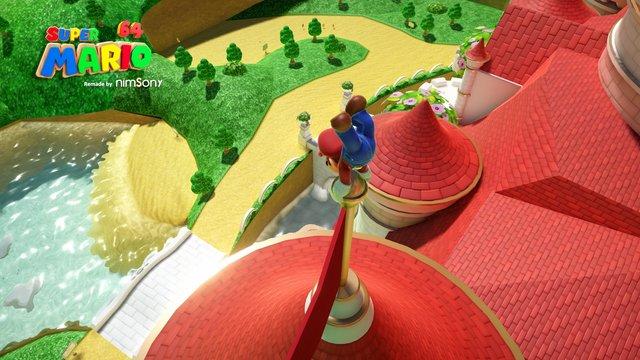 Super Mario 64 - Reimagined by NimsoNy screenshot
