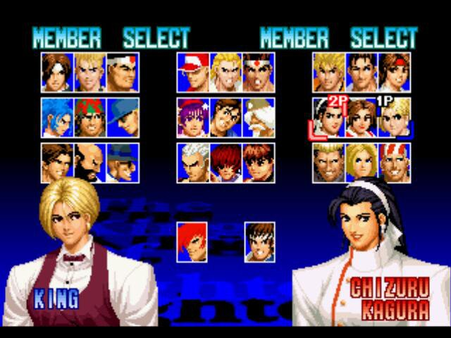 The King of Fighters '97 (1997) screenshot