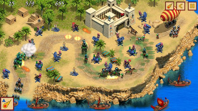 Defense of Egypt: Cleopatra Mission screenshot