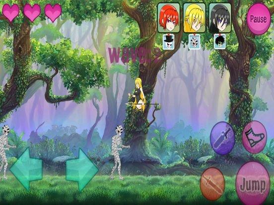 Pretty vs Undead screenshot