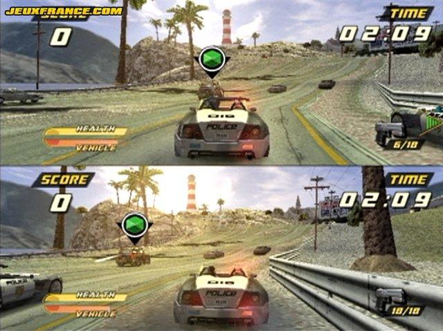 Pursuit Force screenshot