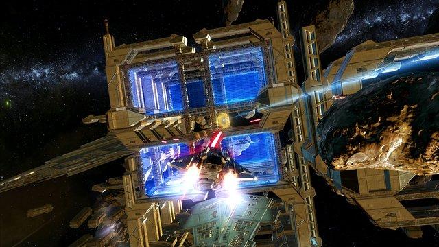 Star Wars: The Old Republic - Galactic Starfighter screenshot