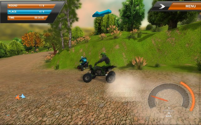 ATV Quadracer Ultimate screenshot