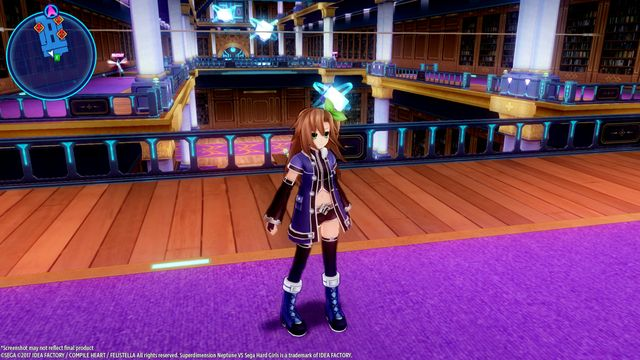 Superdimension Neptune VS Sega Hard Girls screenshot
