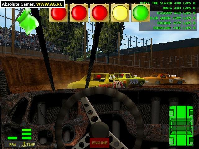 Demolition Derby & Figure 8 Race screenshot