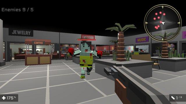 Square Head Zombies 2 - FPS Game screenshot