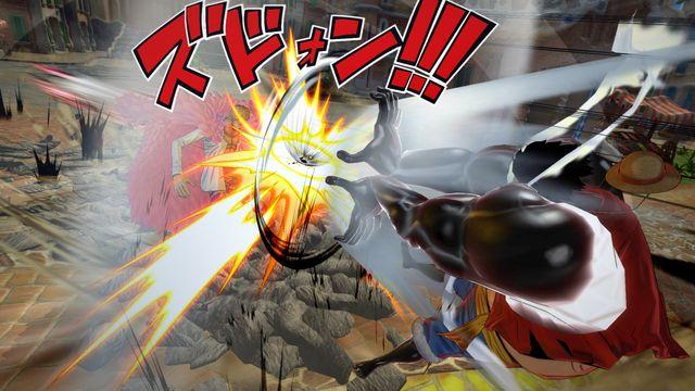 One Piece Burning Blood screenshot