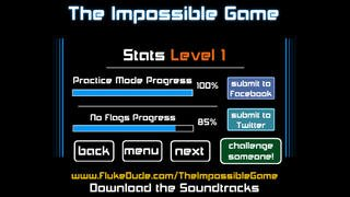 The Impossible Game screenshot
