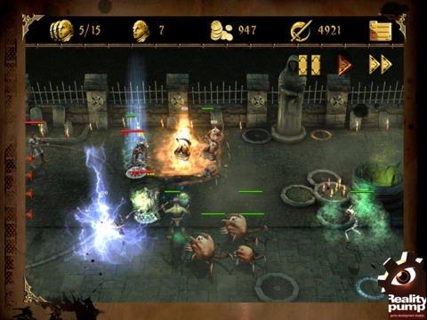 Two Worlds II Castle Defense HD screenshot