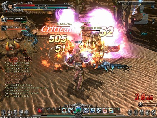Divine Souls F2P MMO screenshot