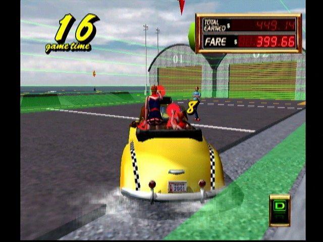 Crazy Taxi 2 screenshot