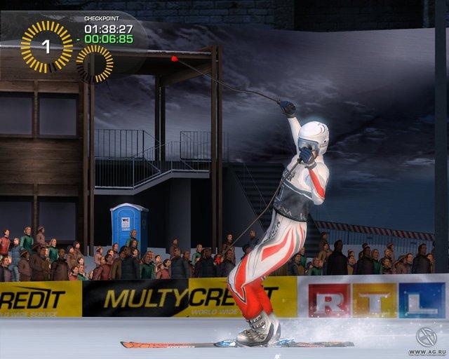 Горные лыжи: Альпийский сезон 2007 screenshot