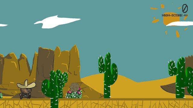 Connor's Desert Adventure screenshot