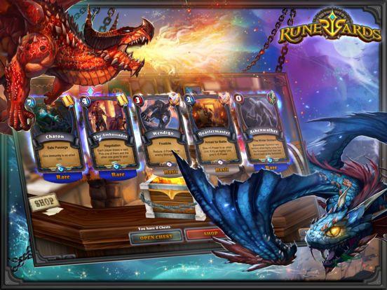 Runewards: Strategy Card Game screenshot