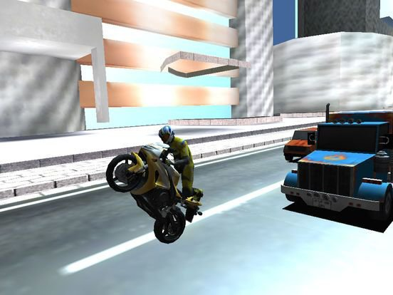 Traffic Moto Racer Stunt Rider: 2016 screenshot