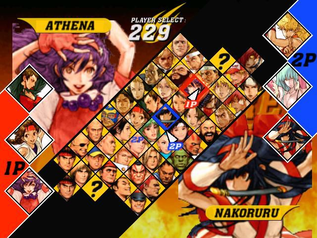 Capcom vs. SNK 2 screenshot